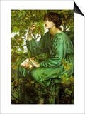 The Day Dream Prints by Dante Gabriel Rossetti