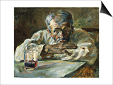 The Alcoholic, Father Mathias Print by Henri de Toulouse-Lautrec