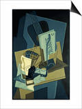Music Book Art by Juan Gris