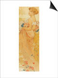 Summer Posters by Alphonse Mucha