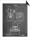 Antique Automobile Patent 1895 Prints