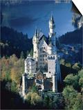 Neuschwanstein castle in autumn, Bavaria Prints by Fridmar Damm