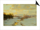 Twilight Prints by Walter Launt Palmer