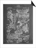Harry Houdini Diving Suit Patent Prints
