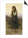 Petite Bergere Prints by William Adolphe Bouguereau