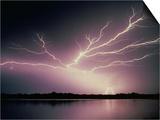 Bolts of Lightning Prints by Walter Hodges