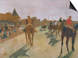 The Parade, or Race Horses in Front of the Stands Prints by Edgar Degas
