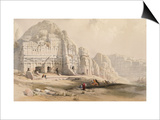Petra, March 8th, 1839 Posters by David Roberts