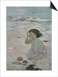 The Senses: Hearing Prints by Jessie Willcox-Smith