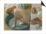 The Tub Posters by Edgar Degas
