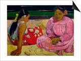 Tahitian Women Posters by Paul Gauguin