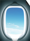 Close-up of airplane window Prints by Sung-Il Kim