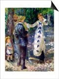 The Swing Prints by Pierre-Auguste Renoir