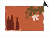 Beer Prints by Anne Bryant