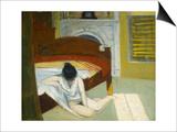 Intérieur l'été Affiche par Edward Hopper