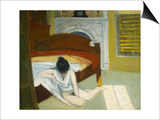 Summer Interior Print by Edward Hopper