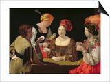 The Cheat with the Ace of Diamonds Prints by Georges de La Tour