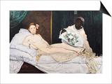 Olympia Art by Édouard Manet
