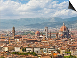 Florence Italy, skyline Prints by David Sailors