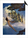 The Dinky Bird Print by Maxfield Parrish