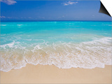 White sand beach in Cancun Prints by Mike Theiss