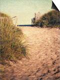 First Encounter Beach Print by Jennifer Kennard