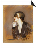 Portrait of Lucette Art by Paul Cesar Helleu