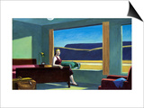 Western Motel Prints by Edward Hopper