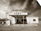 Gas Station and Cafe Prints by Aaron Horowitz