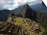 Machu Picchu Ruins Prints by Diego Casadamon
