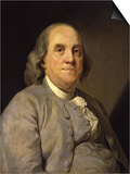 Benjamin Franklin Posters by Joseph Siffred Duplessis