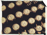 Old Typewriter Keys Posters by Jennifer Kennard