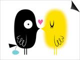 Love Birds Prints by Kirsten Ulve
