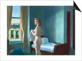 Morning in a City Poster by Edward Hopper