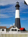 Tybee Island Lighthouse in Savannah Prints by Richard Cummins