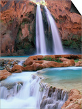 Havasu Falls Posters by Ron Watts