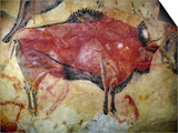 Cave Painting of Bison at Altamira Posters