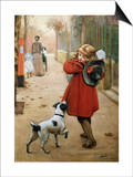 Is That for Me Prints by George Goodwin Kilburne