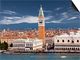 Doge's Palace and St. Mark's Campanile Prints by Jean-pierre Lescourret