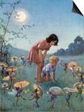Mitsommernacht Kunst von Margaret Tarrant