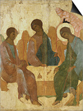 Holy Trinity Posters by Andrei Rublev