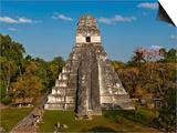 Danny Lehman - Temple I or Temple of the Giant Jaguar at Tikal - Tablo