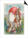 Easter Greetings Posters