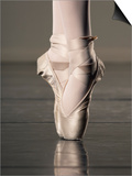 Feet of Ballet Dancer En Pointe Prints by Erik Isakson