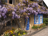 Wisteria-Covered Cottage Posters by Richard Klune