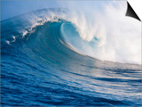 Breaking Waves at a Surfing Area called Peahi, North Shore of Maui, Hawaii Art by Ron Dahlquist