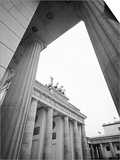 Brandenburg Gate Art by Murat Taner