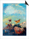 Butterflies Posters by Odilon Redon
