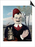 Portrait of Monsieur X (Pierre Loti) Prints by Henri Rousseau
