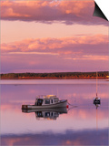 Sunset West River Causeway, West River, Prince Edward Island, Canada Prints by  Barrett & Mackay